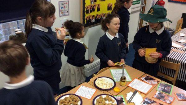 Taste testing in year 6 large