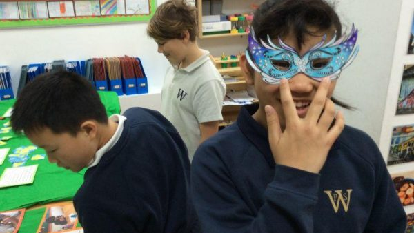 Year 5 brazil masks large