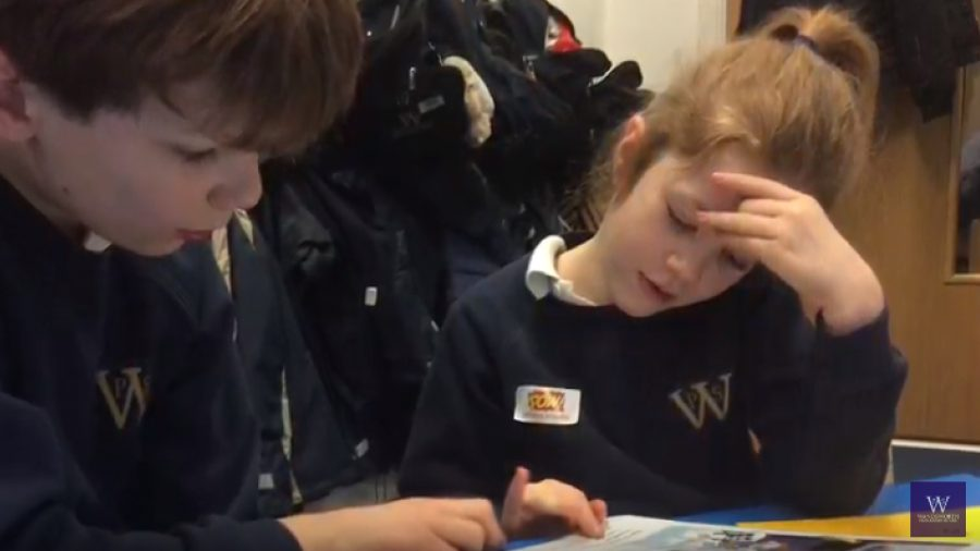 Watch Year 5 Mentor Year 2 Through Buddy Reading