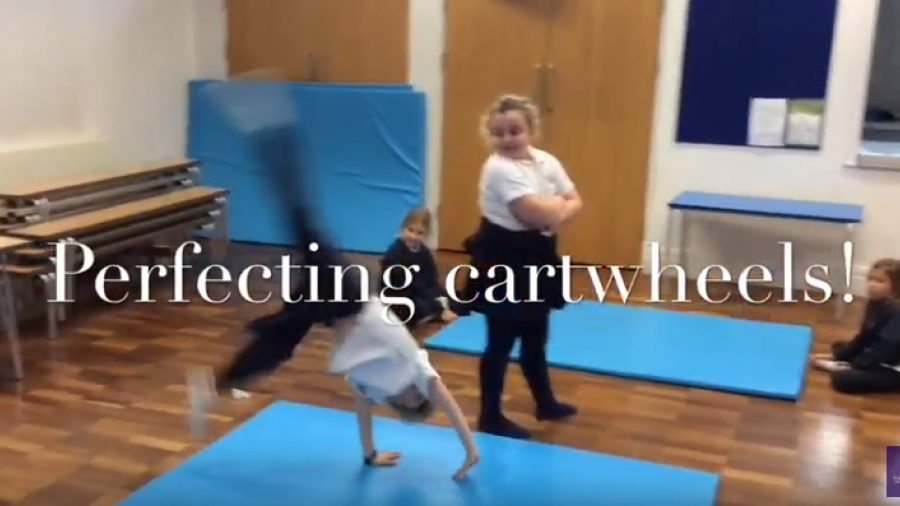 Watch Pupils Develop Tag Rugby and Gymnastic Skills
