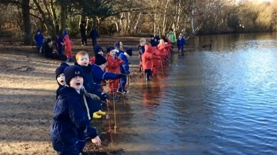 Video: Reception and Year 1's Forest School adventures