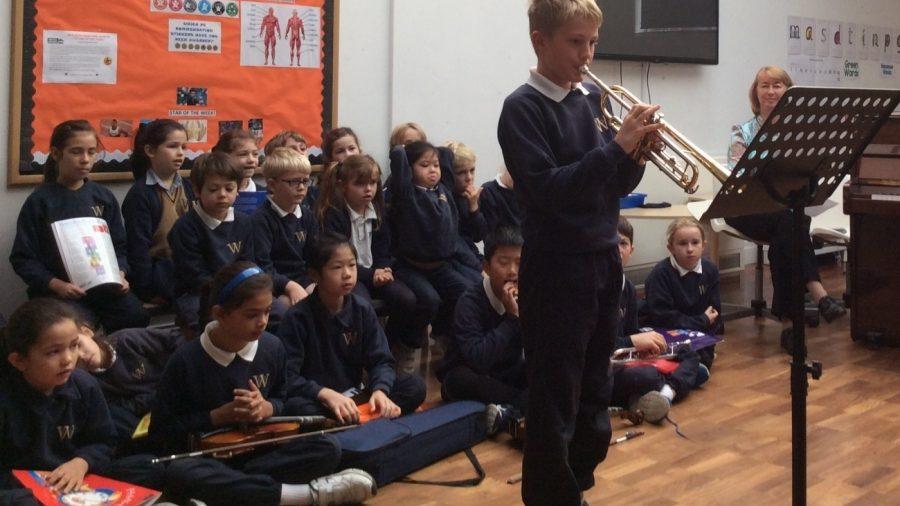 Music recital showcases pupils' talents