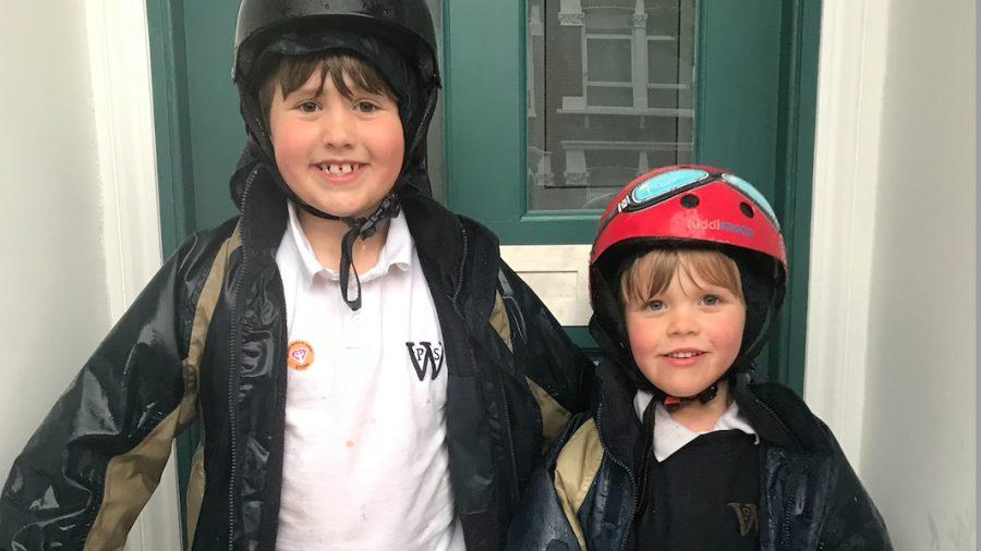 Walk to School Super Heroes