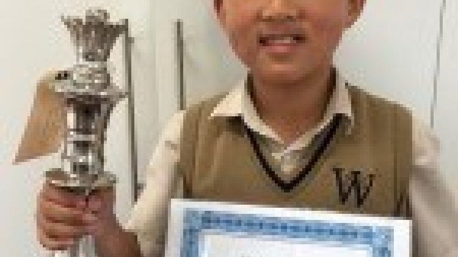 Pupil wins award for outstanding attitude to learning
