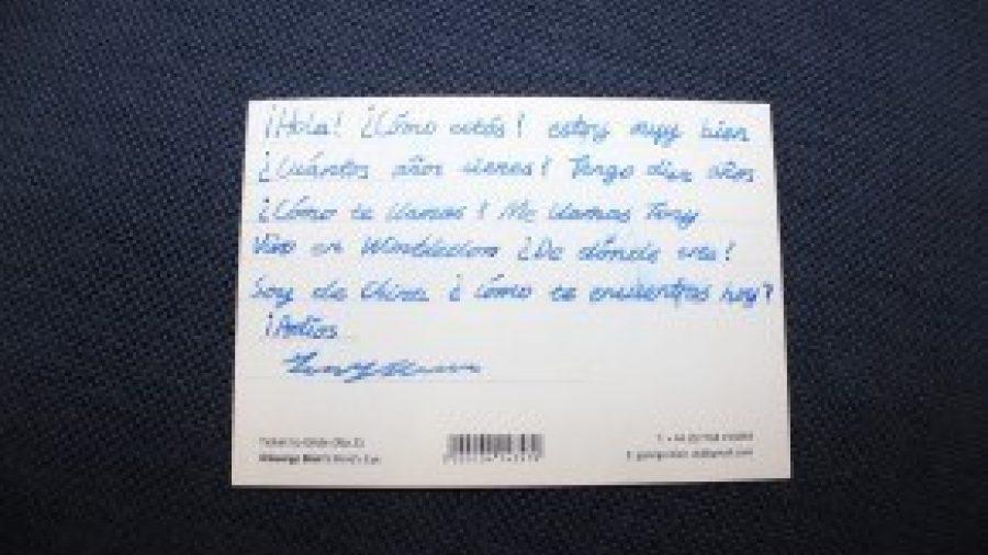 Pen Pal Scheme in Spanish