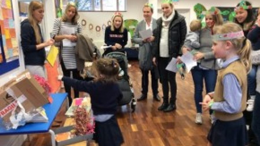 Reception's Presentation to Parents