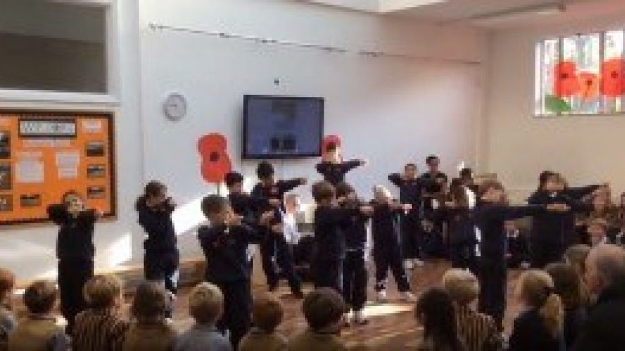 Key Stage 2's World War II Assembly