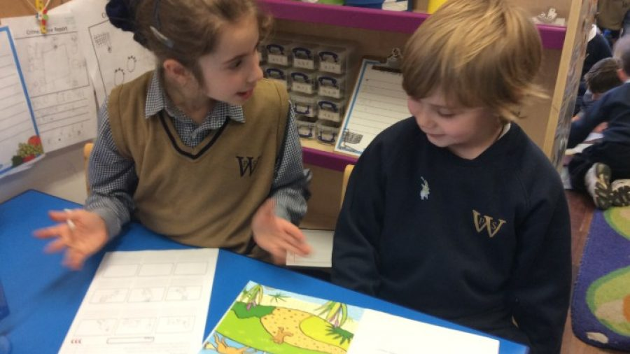 Upper and Lower School ICT Collaboration