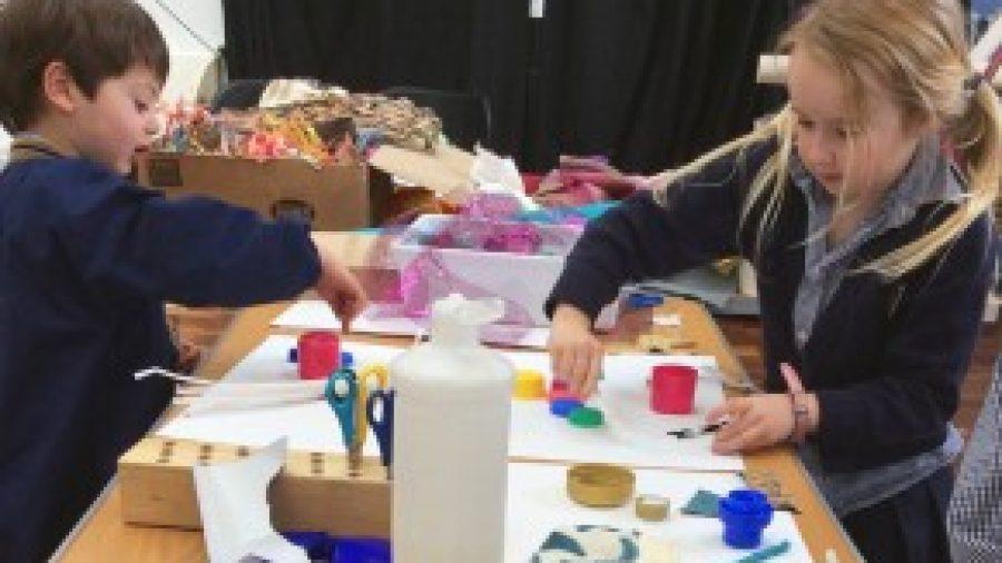 WPS Children Enter Art Competition