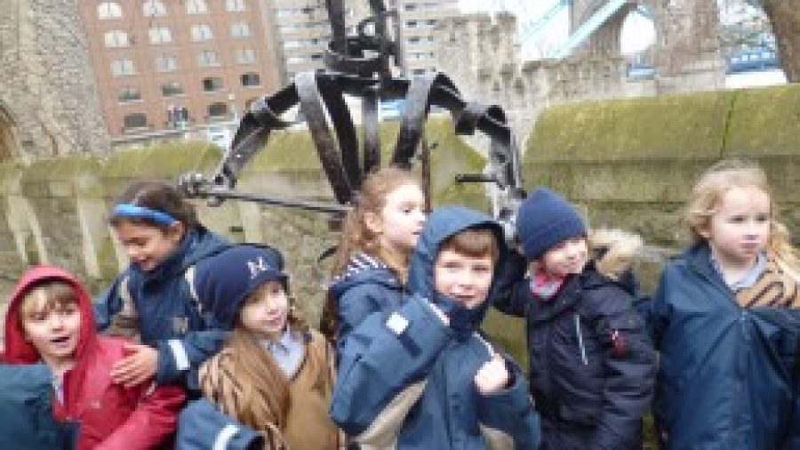 Year One and Two Visit The Tower of London