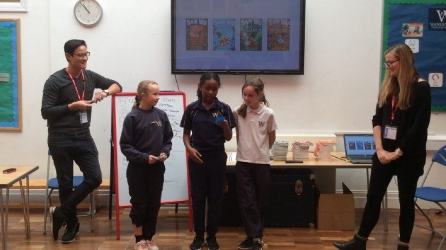 Authors Visit Years 2 to 6
