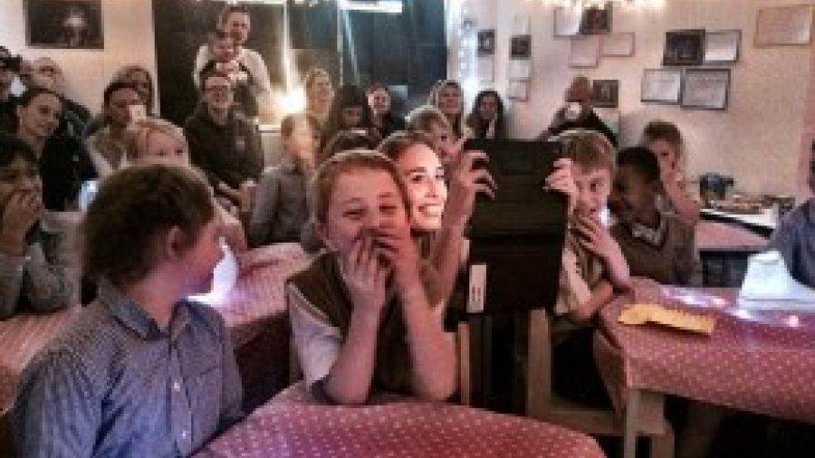 Wandsworth Prep School lights up for National Poetry Day