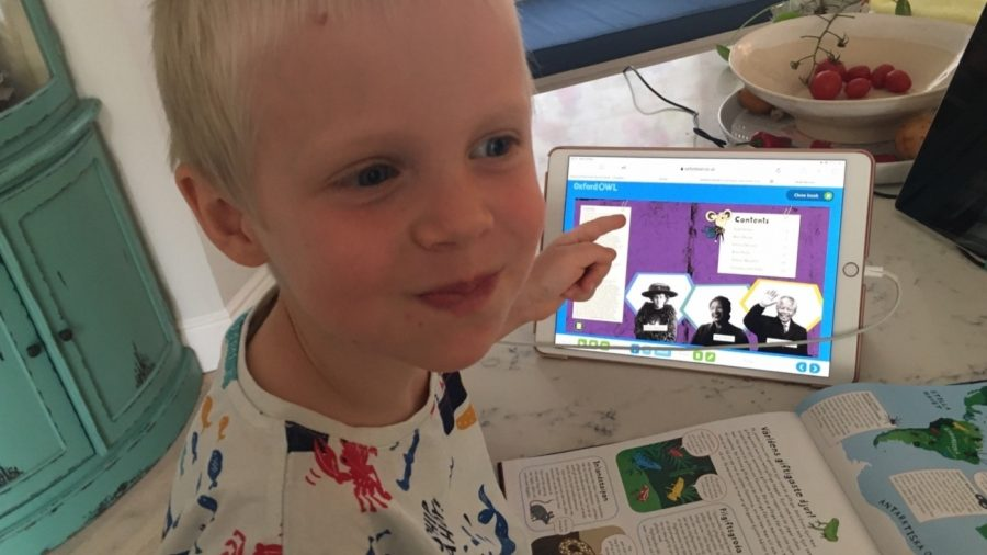 Reception Jump into Online Learning