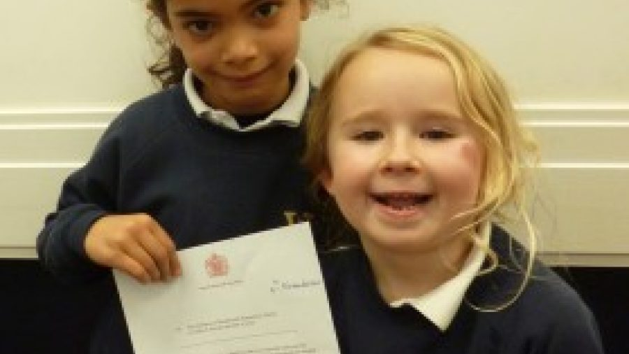 Wandsworth Pupils Receive Letter from The Queen