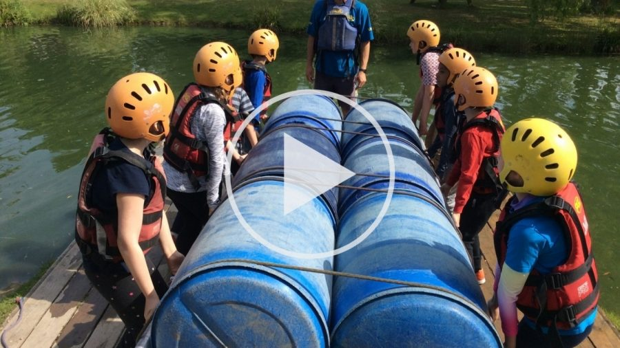 Year 3 and 4 Challenge Themselves at Windmill Hill