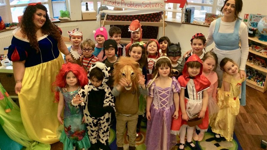 Book fever strikes on World Book Day
