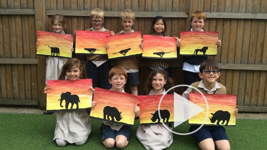 Creativity in Year 2 for One World Week