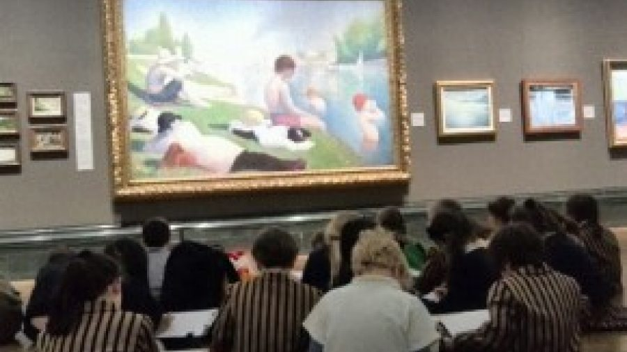 Years 1 and 2's Trip to the National Art Gallery
