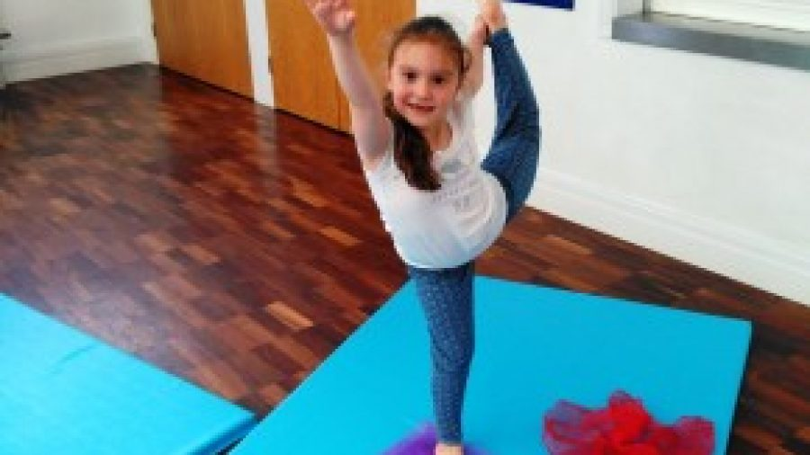 Pupils Enjoy Mini Yoga Classes