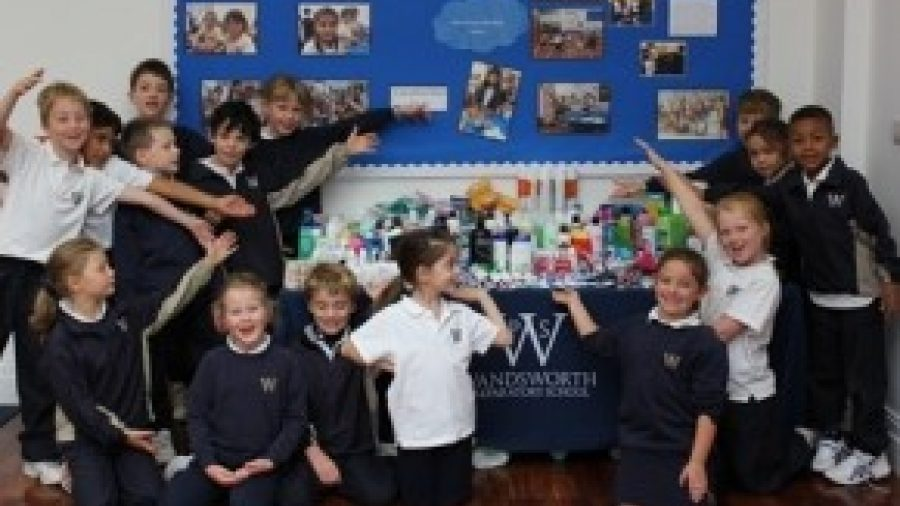 Wandsworth Prep's Harvest Festival supports local charity
