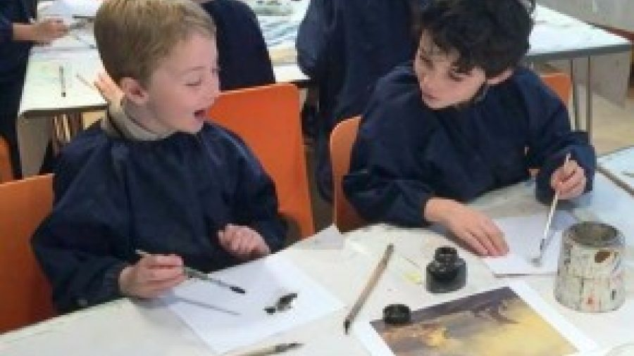 Year 3 and 4 trip to Dulwich Picture Gallery