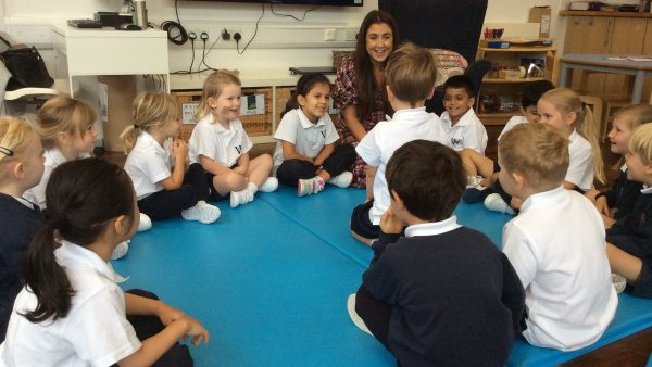 Reception's First Fortnight