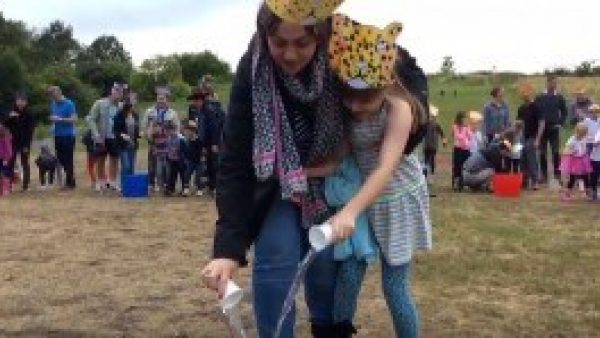 Key Stage 1's African-themed fundraising activity
