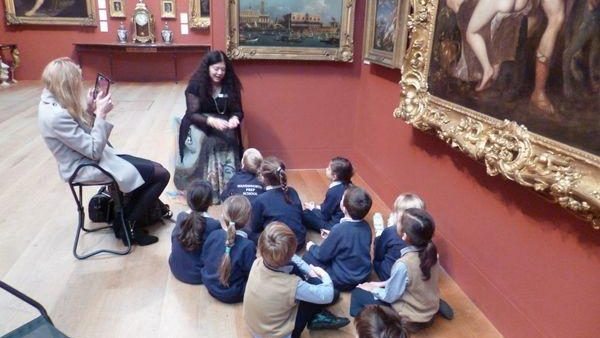 Year 2 Trip to Dulwich Picture Gallery for Storytelling Workshop