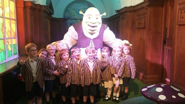 Reception's trip to Shrek World