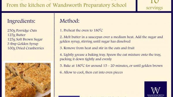 Recipes from Our School Kitchen